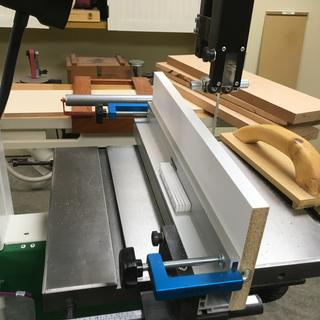 In the background you may see the stack of boards that have been cut using this setup.