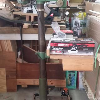 Full Drill Press with Base Kit