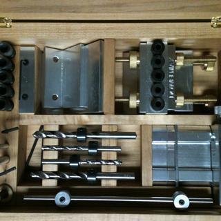 Dowelmax Storage box, inside