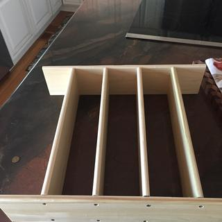 Was great for making drawer inserts to kitchen drawer.