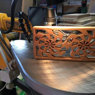 Another trivet cut on DW788!