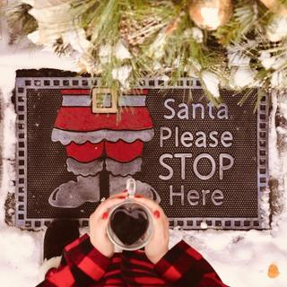 Santa Please STOP Here ??