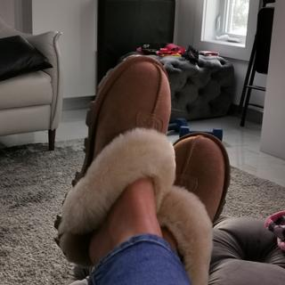 Love my slippers ??