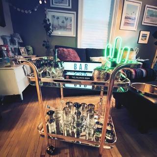 Beautiful Bar Cart!