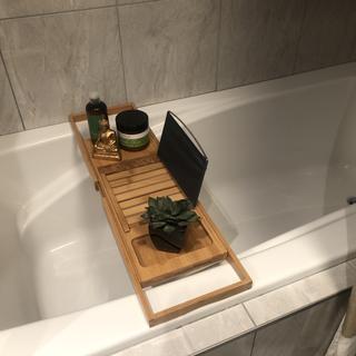 My new bathtub caddy !! Love it
