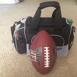 This is just a professional size football to give a size comparison.