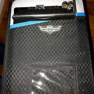 Clip board in front pocket