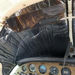 Inside pilot view