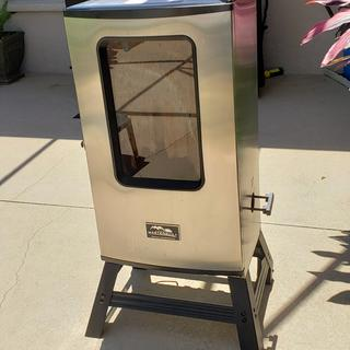 My smoker with legs.