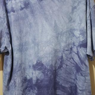 The tye dye design looks really nice on this t shirt