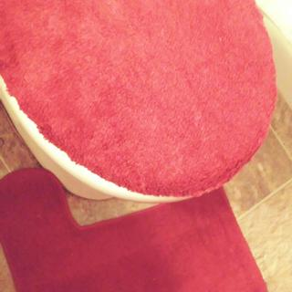 Contour rug and lid cover.