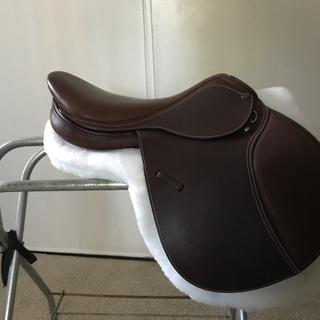"my 17"" saddle"