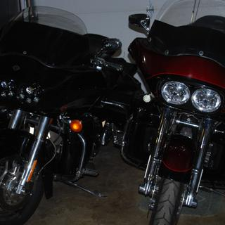 left new install o1 road glide