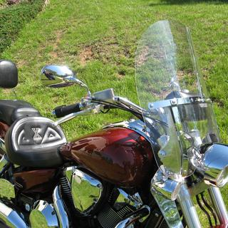 National Cycle 2-Up windshield and lower wind deflectors 2008 Honda VTX1800N