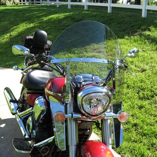 National Cycle 2-Up windshield and lower wind deflectors Yamaha VStar1300