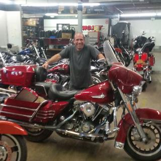 At  R&R CYCLES  MANCHESTER NEW HAMPSHIRE.