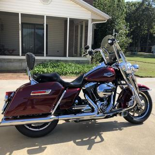 """Wild1 14"""" Apes on 2014 Road King"""