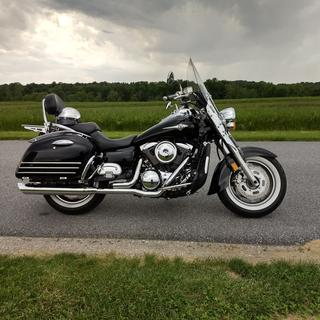 Here is the '06 Kawasaki Nomad I installed it on