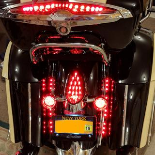 Rear Red LED Turn Signals. NITS-R02