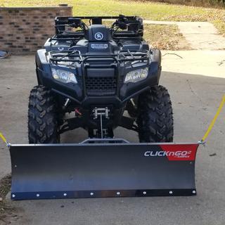 Click N Go2 ATV Push Frame - 373950