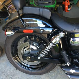 2011 Wide Glide with the new shocks