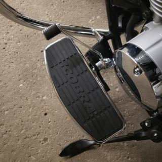 Shift lever might need to be readjusted depending on your boots.