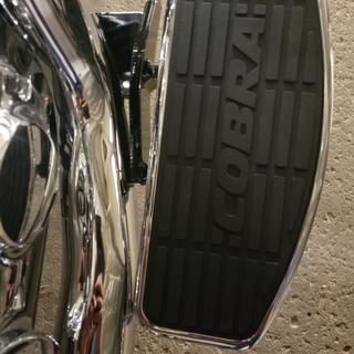 If you have vance and hines shortshots on your bike. These boards will rub against them.