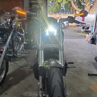 Hogwerks Blackout light on..