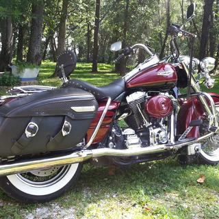 2001 Road King Classic with Solo seat