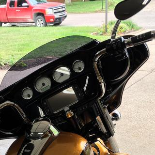 The right bars for my street glide.