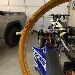 Yz getting new gold rims!