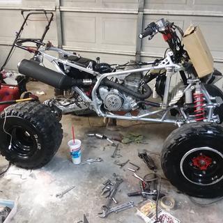 450R rebuild