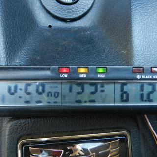 Show Chrome volt meter after 2 summers use.....junk chinese no quality LED's