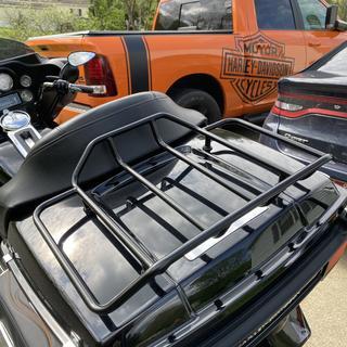 Good looking trunk lid now black