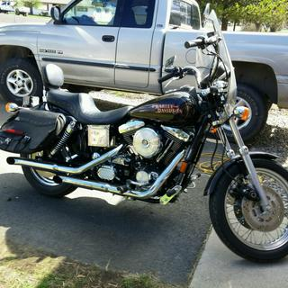 98 Dyna Glide with the new Dipstick