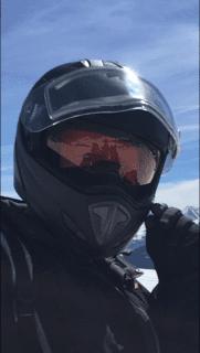 Matte black CKX Helmet