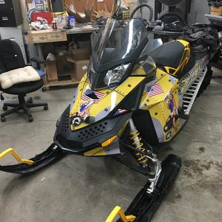 Fast service ! Really added to the sled along with the wrap and seat I added ! Thanx !