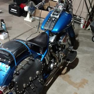 74 Harley Davidson hardtail