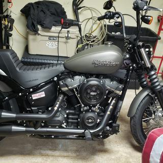 2019 street bob. Slowly but surely itll come together, first thing was the seat. 100% quality