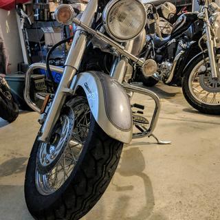 Shown on an 09 Yamaha V-Star 650.