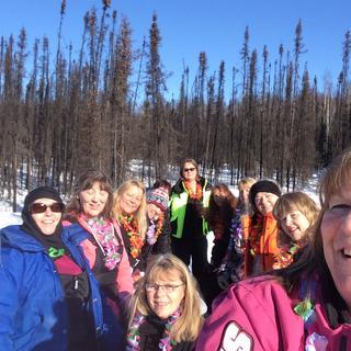 Women's 25th annual snow machine trip