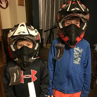 Very happy with their helmets