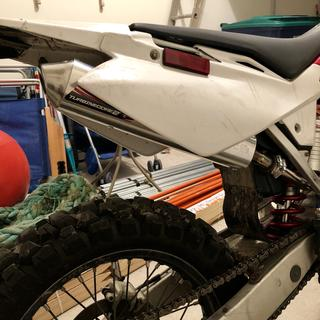 Paired up to the FMF Gnarly pipe