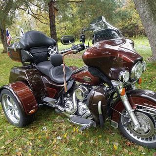 Custom home built trike