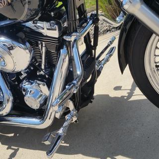 Mustache bar Harley 05 Dyna Low Rider