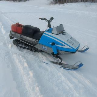 "1977 sno jet mod sled works great with the kimpex shotgun x 1 1/4""  paddle track from Dennis Kirk."