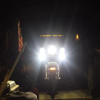 stock Harley low beam