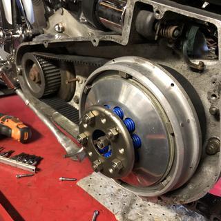 Blue springs  mild built 84 inch Shovel head
