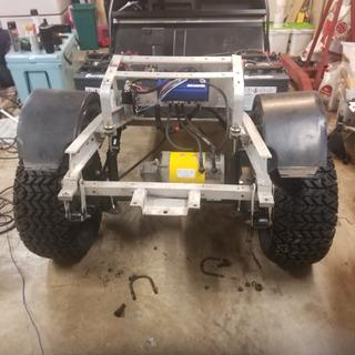 """After, with a 6"""" lift and heavy duty springs"""