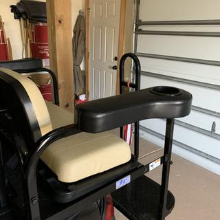 New armrests